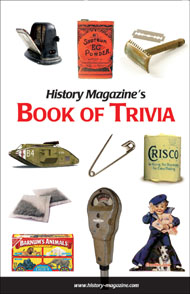 History Magazine Book of Trivia