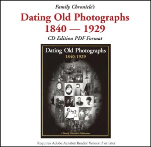 Dating Old Photographs on CD (USA & CDN)