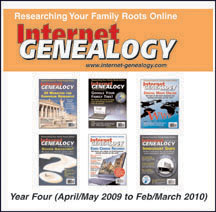 Internet Genealogy Complete Year 4 on CD (w/HST)