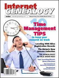 Internet Genealogy March 2103 PDF Edition  CDN GST
