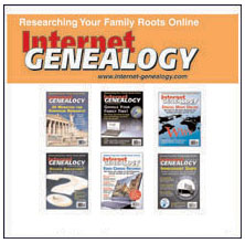 Internet Genealogy Complete Year 7 on CD (w/HST) - Apr/May 2012 thru Feb/Mar 2013